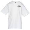 Hanes Nano-T T-Shirt Youth - White - Screen