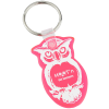 Owl Soft Key Tag - Translucent