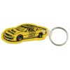 Race Car Soft Key Tag - Opaque