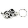 Snowmobile Soft Key Tag - Opaque