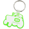Tractor Soft Key Tag - Translucent