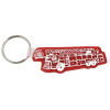Fire Truck Soft Key Tag - Opaque