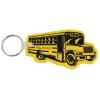 School Bus Soft Key Tag - Opaque