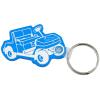 Golf Cart Soft Key Tag - Translucent