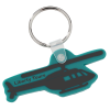 Helicopter Soft Key Tag - Opaque