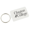 Small Rectangle w/Round Corners Soft Key Tag - Opaque