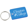 Small Rectangle w/Round Corners Soft Key Tag - Translucent
