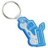 Dump Truck Soft Key Tag - Translucent
