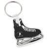 Hockey Skate Soft Key Tag - Opaque