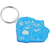 Cats & Dogs Soft Key Tag - Translucent