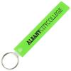Long Rectangle Soft Key Tag - Translucent