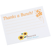 Post-it® Recognition Notes-3x4-25 Sheet-Thanks a Bunch-24 hr