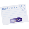 Post-it® Recognition Notes-3x4-25 Sheet-Thanks to You-24 hr