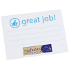 Post-it® Recognition Notes - 3x4 -25 Sheet-Great Job-24 hr