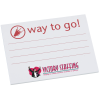 Post-it® Recognition Notes - 3x4 -25 Sheet-Way to Go-24 hr