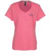 Hanes X-Temp Performance T-Shirt - Ladies' Heathered- Emb