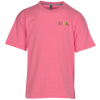 Hanes X-Temp Performance T-Shirt - Youth - Heathered - Emb