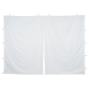 10' Premium Event Tent - Middle Zipper Wall - Blank