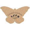 Cork Coaster - Butterfly