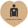 Cork Coaster - Heart
