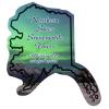 Flat Flexible Magnet - State - Alaska - 30 mil