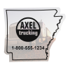 Flat Flexible Magnet - State - Arkansas - 30 mil