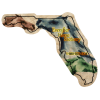Flat Flexible Magnet - State - Florida - 30 mil