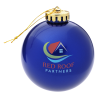 Round Shatterproof Ornament - Translucent - Full Color