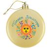 Satin Flat Ornament - Full Color