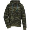 Burnside Camo Full-Zip Hooded Sweatshirt - Screen