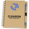 Die Cut Recycled Notebook - Globe - 24 hr