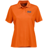 Vansport Omega Solid Mesh Tech Polo - Ladies' - Embr - 24 hr
