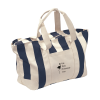 Striped Canvas Tote - Large
