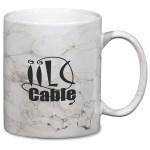Marble Mug - White - 11 oz.