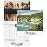 Landscapes of America Calendar (Spanish) - Stapled
