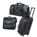 Leather 3-piece Luggage Set