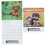 Puppies & Kittens Calendar - Mini