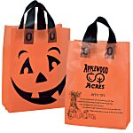 Halloween Orange Frosted Shopper
