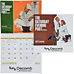Saturday Evening Post Norman Rockwell Calendar - Stapled