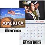 American Visions Calendar - Stapled