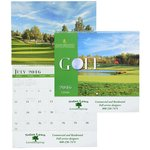 Golf Landscapes Calendar - Spiral