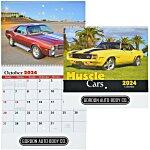 Muscle Cars Calendar - Spiral