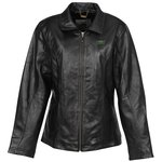 Burk's Bay Lambskin Leather Coat - Ladies'
