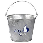 5 QT Galvanized Metal Pail