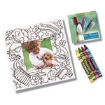 Picture Me Coloring Magnet Frame - Dentist
