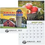 American Agriculture Calendar - Spiral