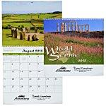 World Scenic Calendar - Spiral