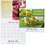 Dining Delights Calendar - Stapled