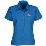 Blue Generation SS Poplin Shirt - Ladies'