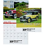 Classic Cars Calendar - Stapled